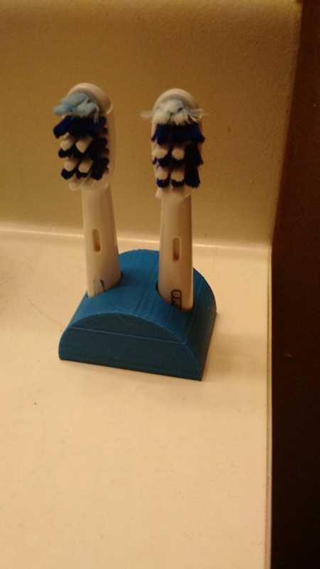 Oral B Diş Fırçası Tutucu Plastik Aparat