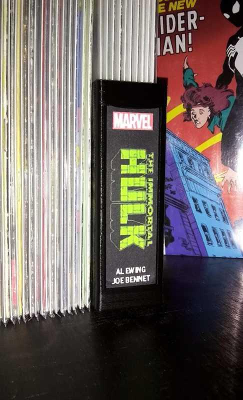 Komik Backstrip Kitap- Dergi Tutucu Dekoratif Aksesuar