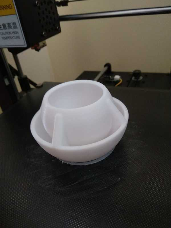 Küre Masa Ekici Saksı Kümes Güvercin Su Yem Kabı Plastik