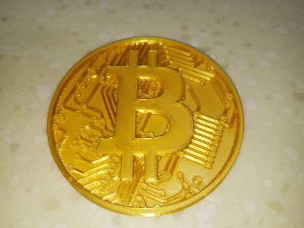 Bitcoin Gift Coin Biblo Dekoratif Hediyelik Süs Eşyası Maket