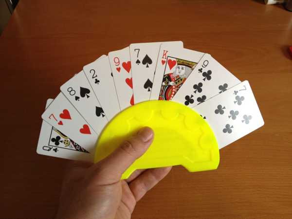 Oyun Kartı Tutacağı İskambil Kağıt Oyunları Dekoratif Aparat