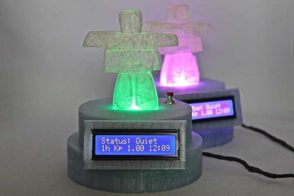 Aurora Monitor V2 Plastik Aparat