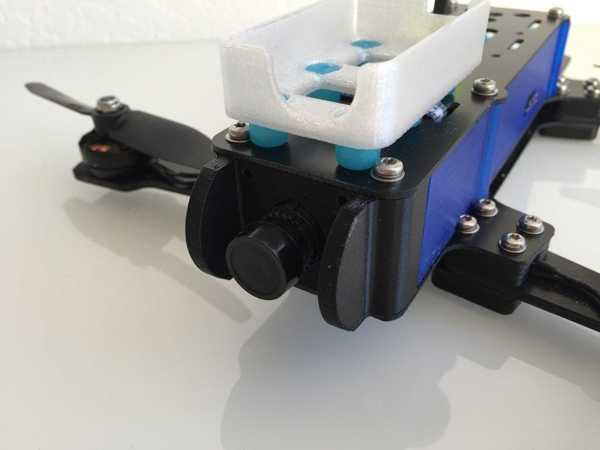 Fpv Kartı Kamera Montajı İçin R.250 Fpv Yarış Dörtlü Untowedprototype Plastik Aparat