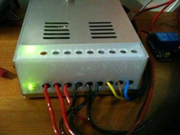 12V 30A 360W Düzenlenmiş Güç Kaynağı için Kablo Kapağı