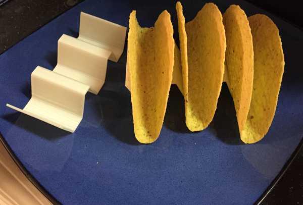 Taco Tako Waffle  Kabuk Tutucu Mutfak Organizeri Düzünleyici