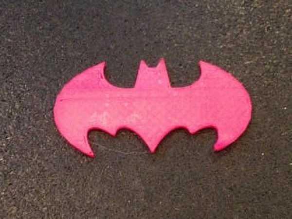 Batman Sembolü Kalıbı  Hediyelik Süs Eşyası Dekoratif