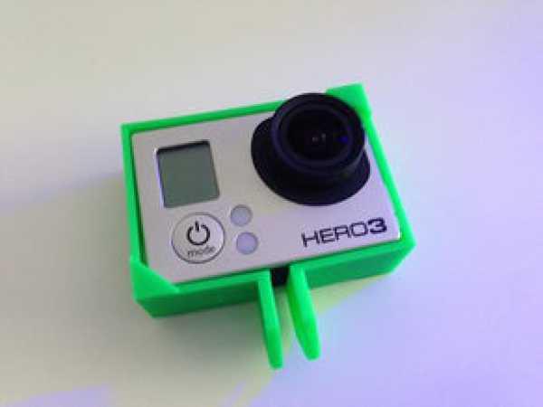 GoPro Hero3 Kamera Çerçeve Bağlantısı Tutucu koruyucu kılıf