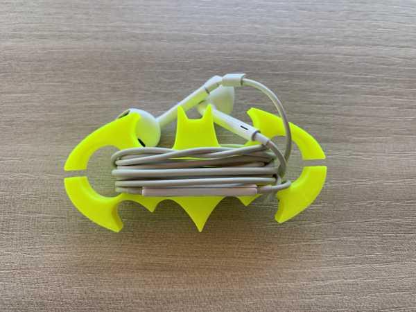 Kulaklık Tutucu Batman Düzenleyici Kablo Organizer Koruyucu