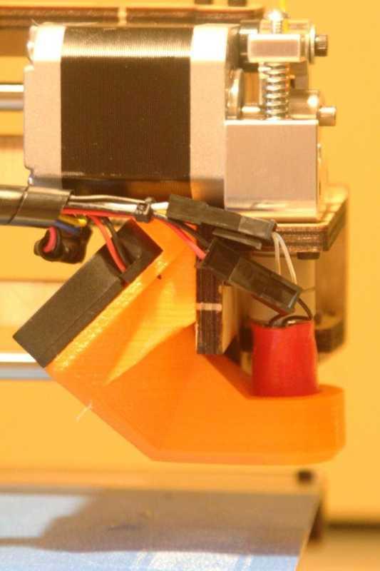 Printrbot 1405 Geliştirilmiş Fan Örtüsü Plastik Aparat