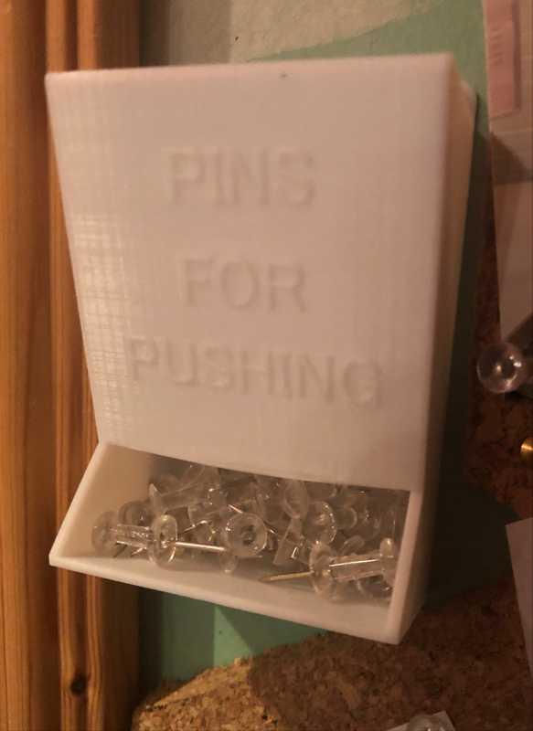 Pano Pin Organizer Düzenleyici Plastik Pratik Tutucu Avadanlık