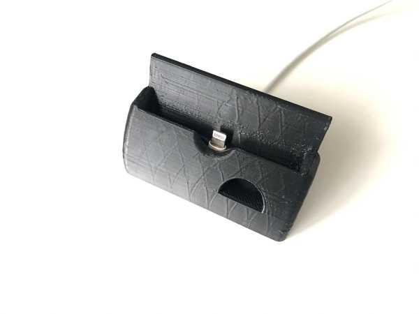 İPhone 6s kasa yuvası kablo girişli stant şarj aparatı