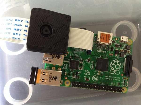 Toptan Raspberry Pi Kamera Kılıfı / Muhafaza (Düşük Vertex Sayısı İçin Represhed) Plastik Aparat