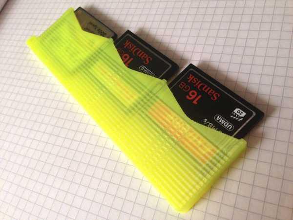İnce CompactFlash kart tutucu Dekoratif Aksesuar Organizer