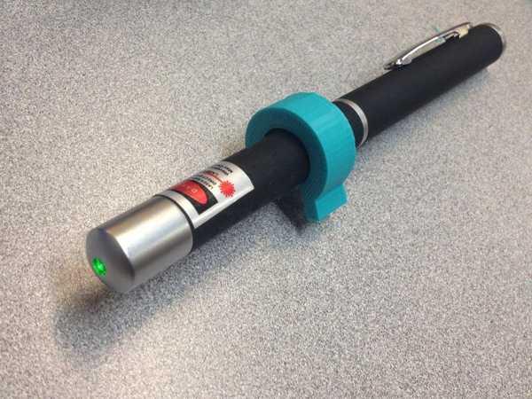 Lazer Pointer Anahtarı Plastik Aparat