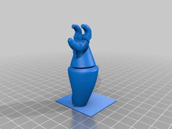 Toptan  Baskı İçin Geliştirilmiş Bequi Eller Plastik Aparat