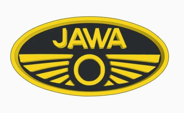 Logo Jawa Bisiklet Plastik Aparat