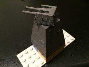 JP1 in Lego için Ölüm Yıldızı Tareti Modu  Organik Plastikten