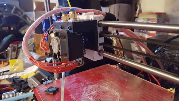 J-kafası için 40 mm Fan montajı Organik Plastikten Aparat