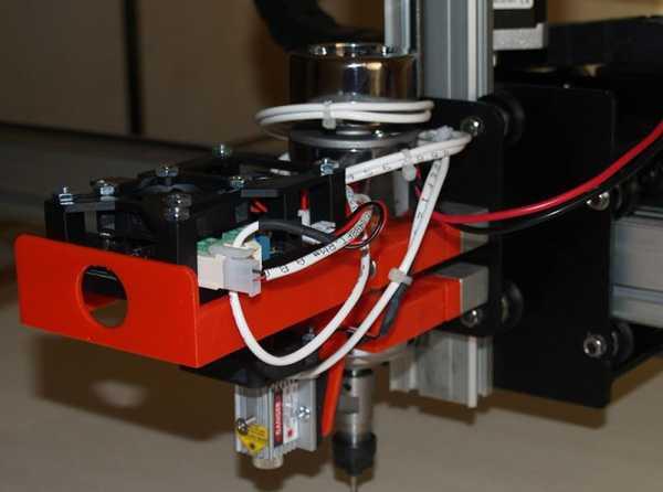 Toptan Güncelleme 12-19/2015 J-Tech Shapeoko 2 Lazer Montajı Plastik Aparat