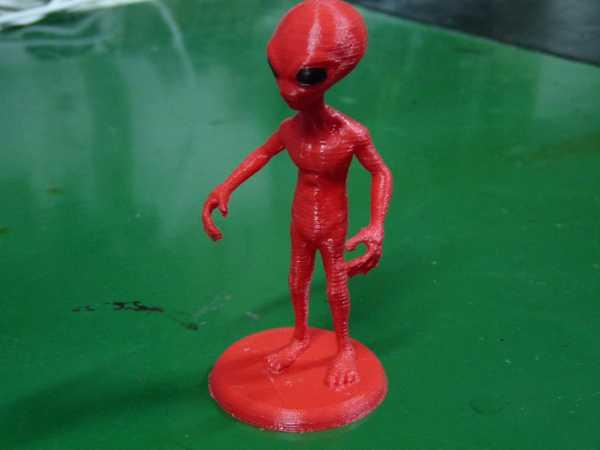 Alien Uzaylı Modeli Figür Hediyelik Süs Eşyası Masaüstü Dekoratif