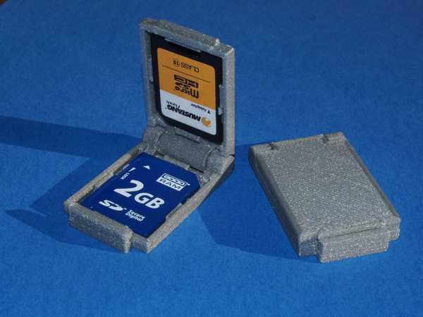 SD Kart Tutucu  Aparatı Organizer Tutucu SD kart holder