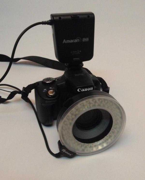 Canon Macroflash-Ring Adaptörü Plastik Aparat