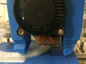 MK7 Ekstruder Fan Kanalı ve Baskı Soğutucu  Organik Plastikten
