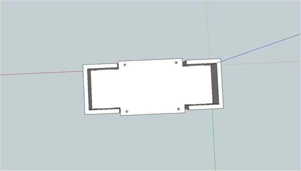 Lipo Pil Tutucu (Rc Car İçin) 2S Hard Case Plastik Aparat