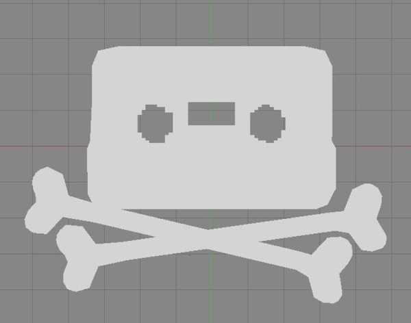 Toptan  Piratbyrã ¥ N S Logosu Plastik Aparat