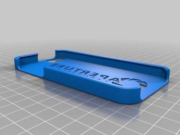 Diyafram Bilimi İphone 5 / 5S Kutu Kılıf Plastik Aparat
