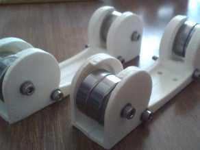 Airtripper'ın Cep Filament Makarası Silindirleri  Aparat