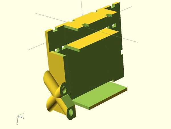 Mikrokopter - Gr-24 / Mikrokopter İçin Alıcı Tutucu - Empfaengerhalter Für Gr-24 Plastik Aparat