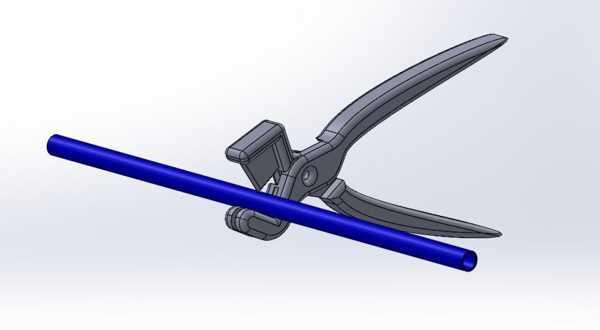 Schlauchschneider (Zange) Metall Blade Plastik Aparat