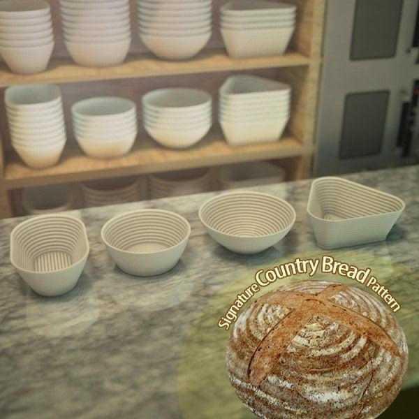 Ekmek Prova Sepetleri Plastik Aparat