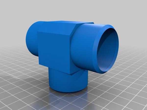 Elektrikli Süpürge Çift Hortum T-Adaptörü Plastik Aparat