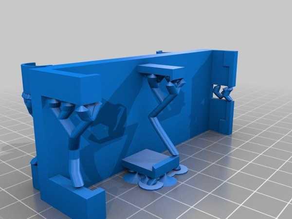 Modifiye Turnigy Fabrikator Veya Prusa I3 Yatak Tesviye Tutucu Dijital Lastik Göstergesi İçin Plastik Aparat