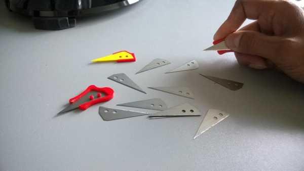 Bıçak Tutacağı Plastik Aparat