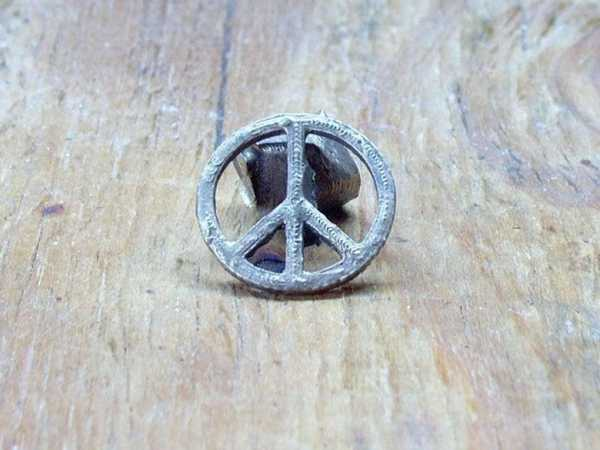 Barış Sembolü Madalyon (Bronz Da) Plastik Aparat