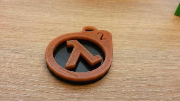 Half-Life 2 anahtarlık ucu Dekoratif Aksesuar Süs Eşyası