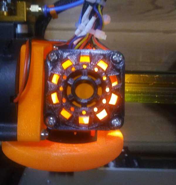 Iron Man Ark Reaktörü 40mm Fan Koruma Kapağı Tutucu Aparat
