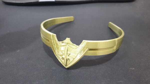Wonder Woman Kafa Bandı Oyuncak Taç Dekoratif Aksesuar Süs Eşyası