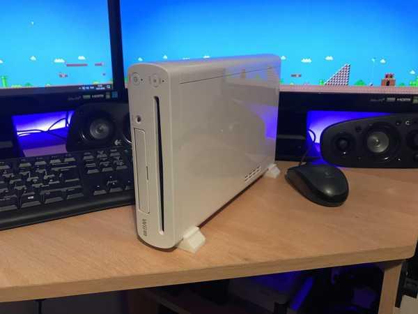 Wii U Dikey Stand Plastik Aparat