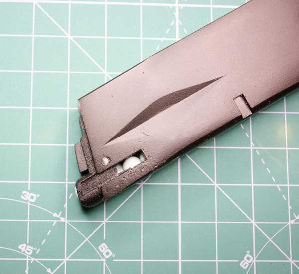 Toptan Dergi Dudak Yedek Beretta Asg M9 İçin Gaz Darbe Tam Metal Airsoft Gun Plastik Aparat
