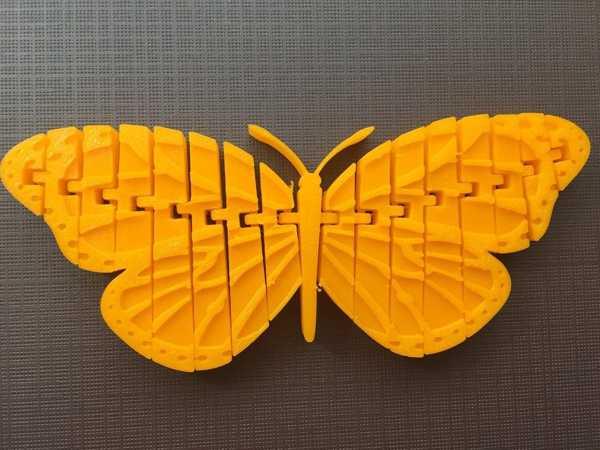 Hareket Edebilir Monarch Kelebek Çocuk Eğitici Hayvanlar Kanatlı
