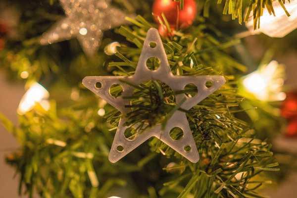 Noel Ağacı Yıldızı Çam Ağacı Süsü Dekoratif Aksesuar Süs Eşyası