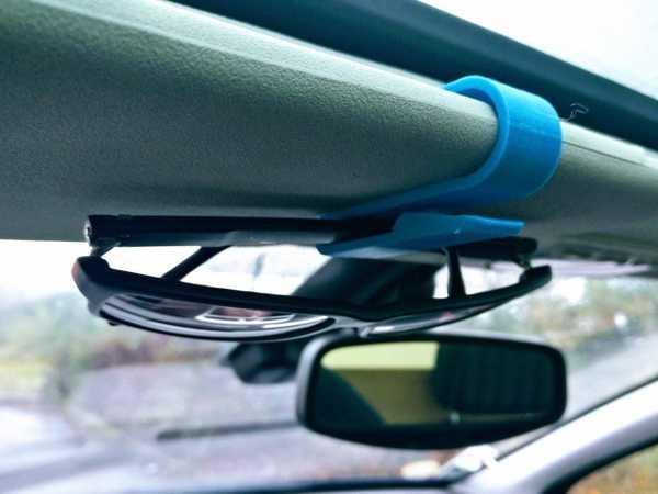 Güneş Gözlüğü Araba Güneşlik Klipsi tutacak kırılma önleyici