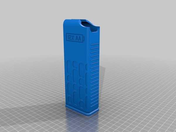 Batterymag - 10X & 12X Aa Dispenser Gövdeleri Plastik Aparat