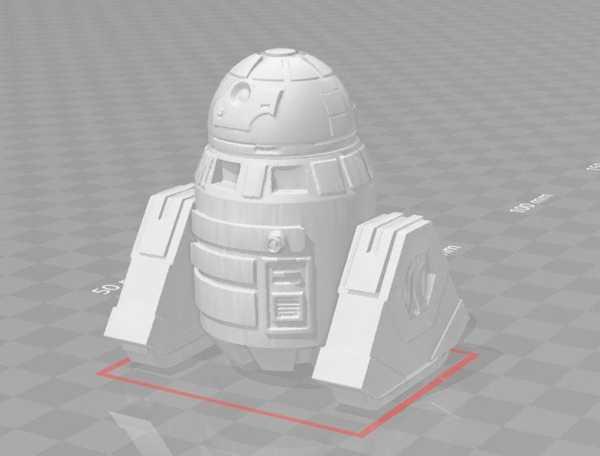 Yıldız Savaşları Solo A-Lt Utility Droid Plastik Aparat