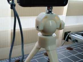 Mini Tripodlar için Floppy Bacak Bracer Tutucu Dekoratif Aksesuar