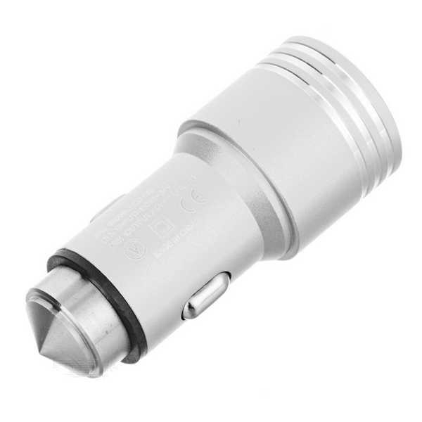 In-Car Charger Dual Usb Input 2.1A Super Speed Copy